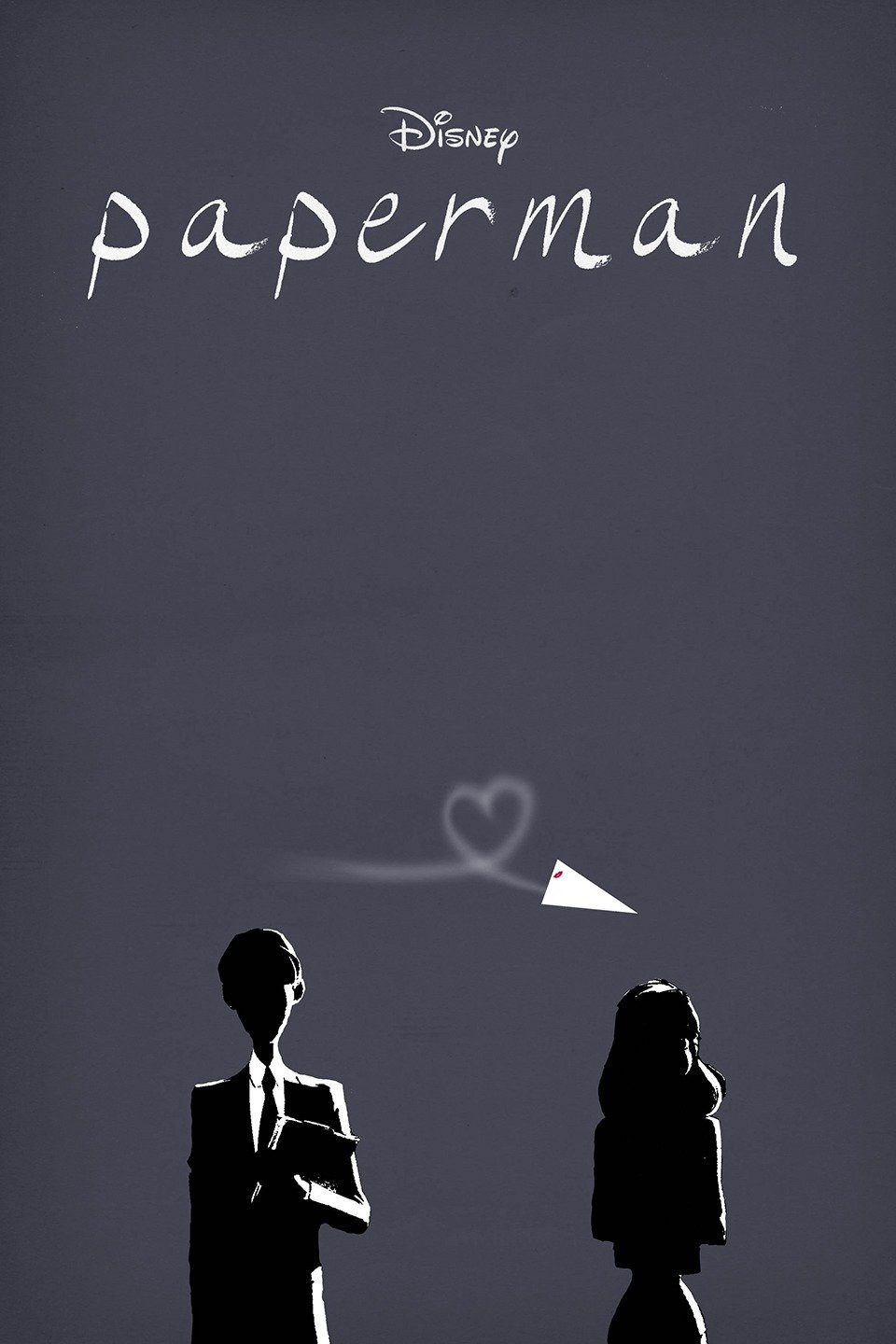 """Poster for Disney's """"Paperman"""""""