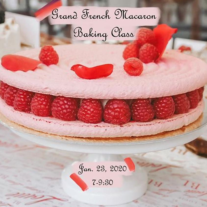 Grand French Macaron Baking Class