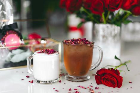 Rose Milk Tea & Rose Tea