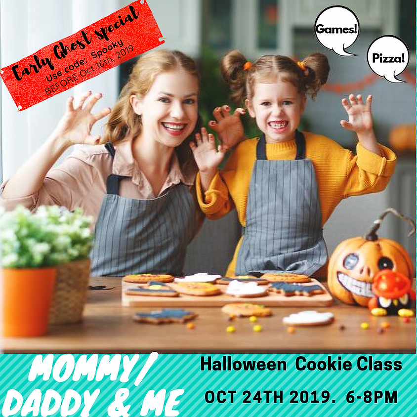 Halloween Cookie Night (Mommy or Daddy & Me)