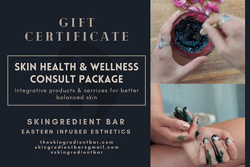 Gift Certificate: Skin Health & Wellness Consult Package