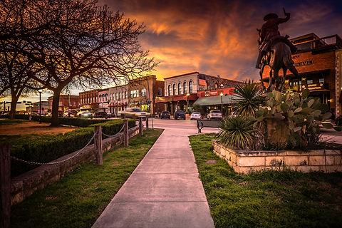 Sunset on The Square.jpg