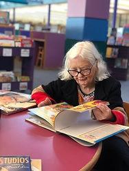 SH reading at library.jpg