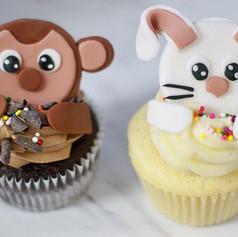 Custom Cupcake Toppers🐵🐰_-_-_-_-_-_-_#