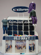 Old Navy cake from all sides 😍_-_-_-_-_