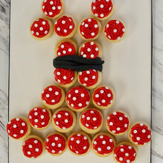Minnie Mouse Custom Cupcakes🐭_-_-_-_-_-