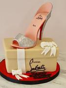Christian Louboutin birthday cake😍_-_-_
