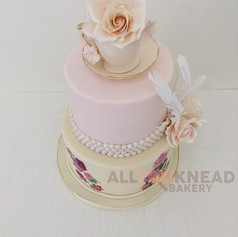 Bridal Shower Tea Party Cake 😍😍 Email