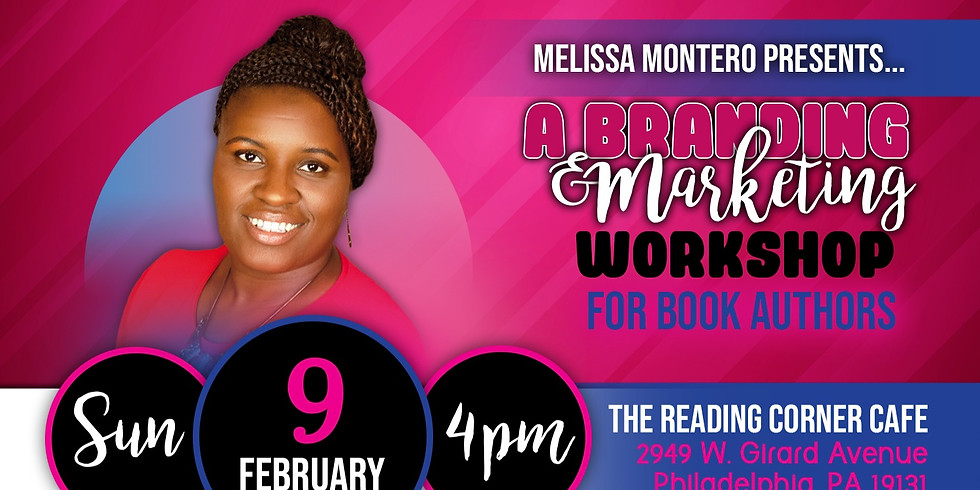 Branding & Marketing Workshop For Book Authors