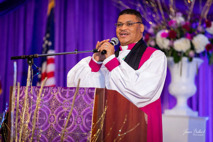 Bishop Keith Thomas, Vice President