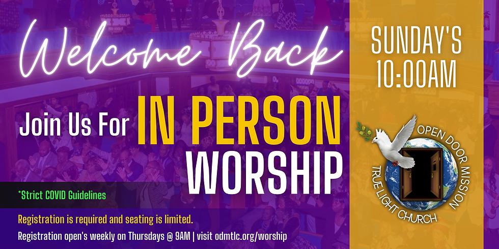 June 27, 2021 - Sunday Morning Worship