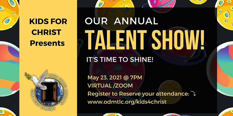 Kids 4 Christ Talent Show