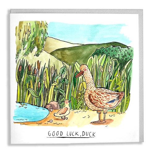 Good Luck, Duck Card