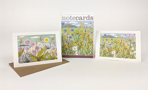 Machair & Plantain and Thrift Notecards