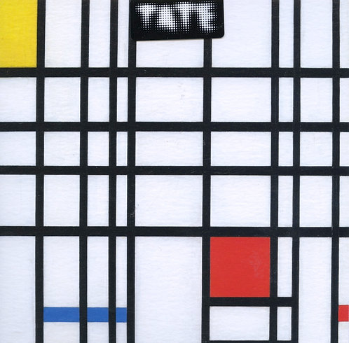 Composition with Yellow, Blue and Red. 1937-42