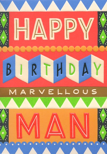 Marvellous Man