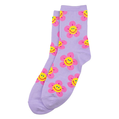 Happy Flower Socks