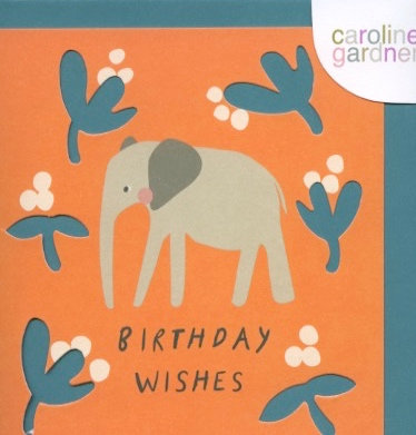 Birthday Wishes Elephant.