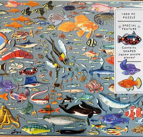 Jigsaw Puzzle Sealife