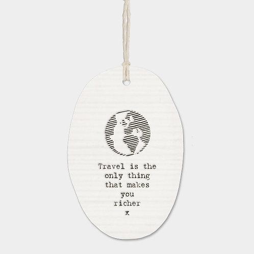 Porcelain Hanger - Travel
