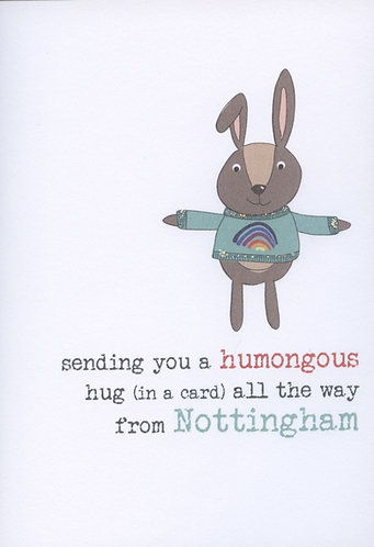Humongous Hugs from Nottingham