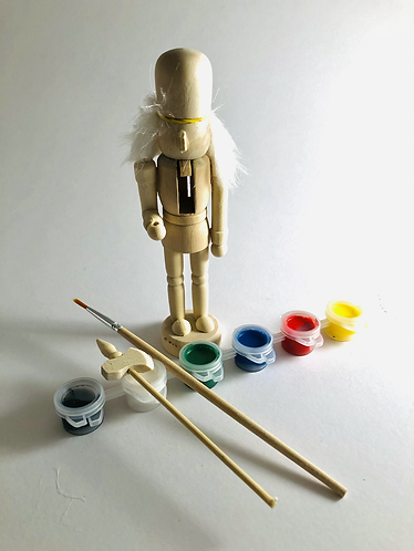 Mini Nutcracker Solider to paint.