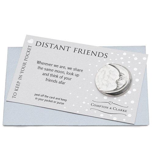 Distant Friends Pocket Charm
