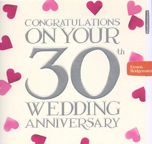 30th Wedding Anniversary (pearl)