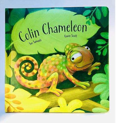 Jellycat Book. Colin Chameleon.
