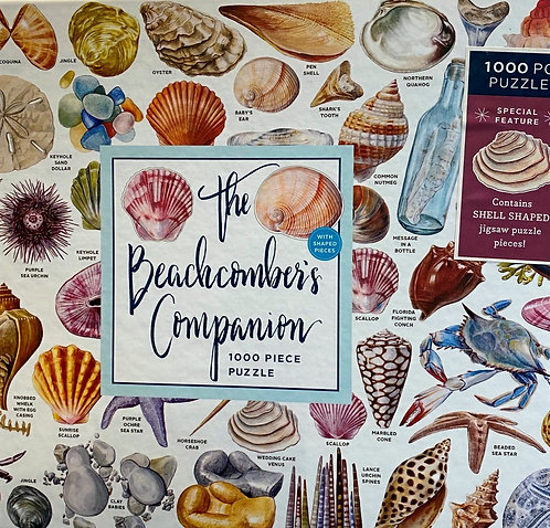 Jigsaw Puzzle Beachcomber Sea Shells