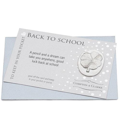 Back to School Pocket Charm