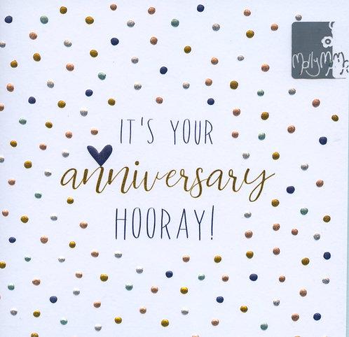 Your Anniversary Hooray.
