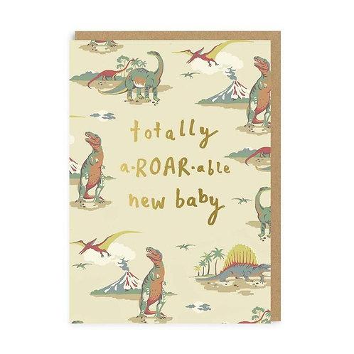 Cath Kidston a-ROAR-able New Baby Card