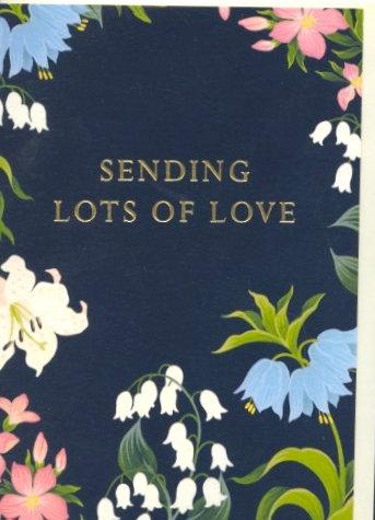 Sending Lots of Love.