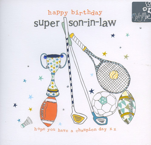 Happy Birthday Super Son-in-Law