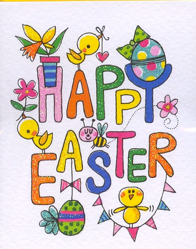 Happy Easter. (5 Cards)