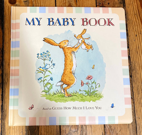 Guess How Much I Love You Baby Record Book