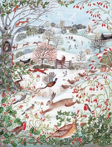 Winter Friends Advent Calendar