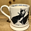Thumbnail: Black and White Cat half pint mug.
