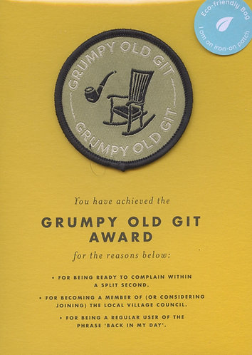Grumpy old Git.