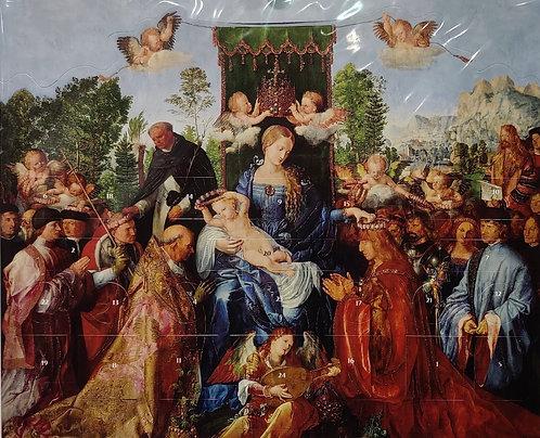 Advent Calendar Religious Madonna & Child