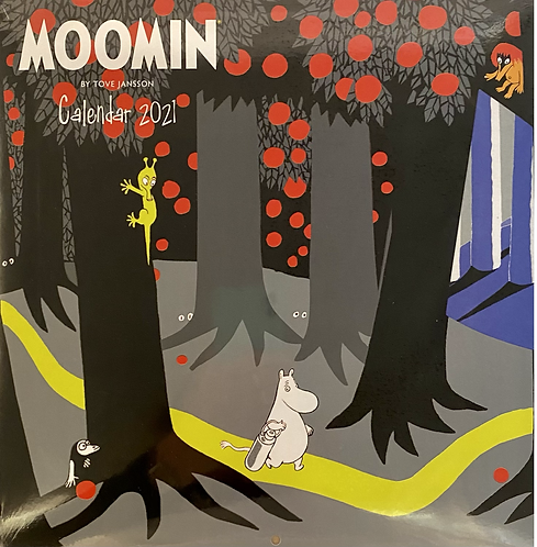 Calendar 2021 Moomin Wall