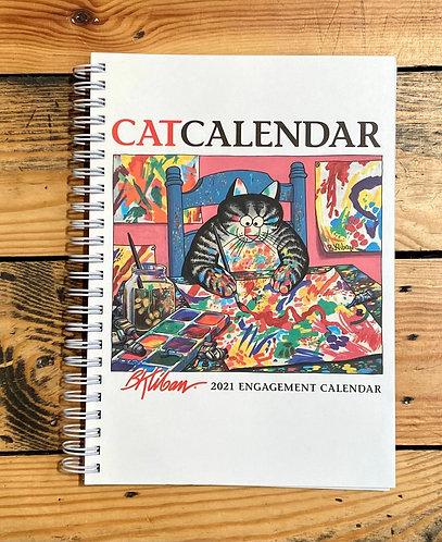 Kliban Cats 2021 Diary