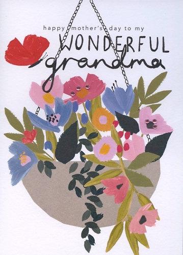 Mothers Day, Wonderful Grandma.