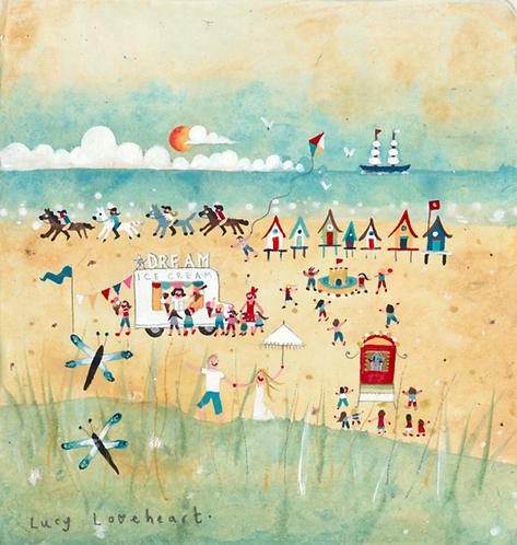 Dream Beach Card