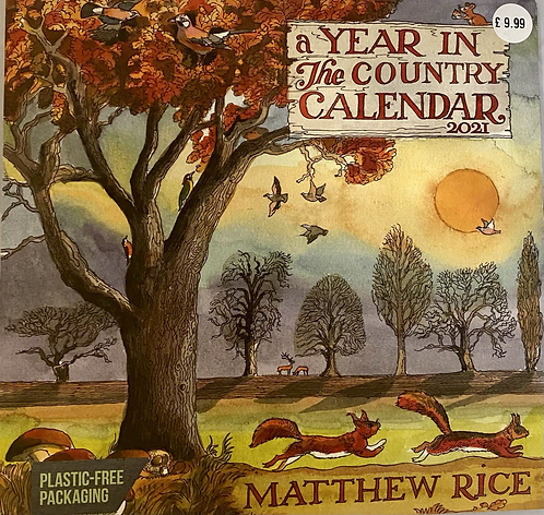 Calendar 2021 Matthew Rice Year in The Country