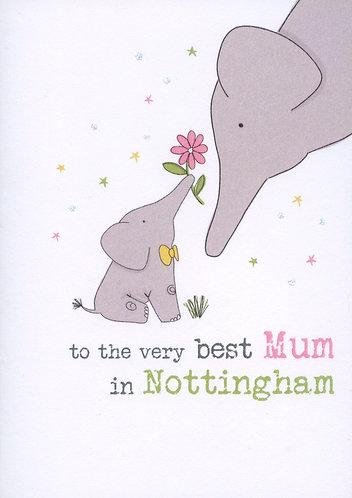 Best Mum in Nottingham.