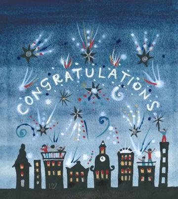 Congratulations Lucy Loveheart Card