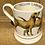 Thumbnail: Yellow Labrador half pint mug.