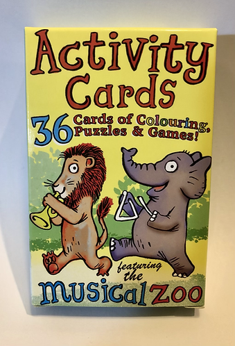 Musical Activity Cards.